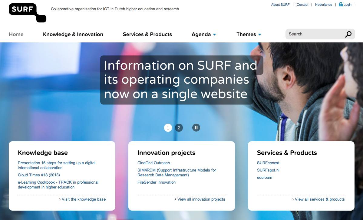 New website SURF