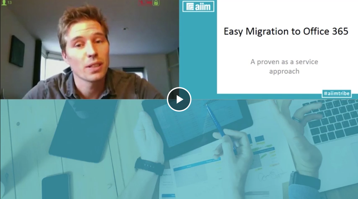 AIIM Webinar Office365 and SharePoint