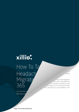Challenges with migrations to Microsoft 365