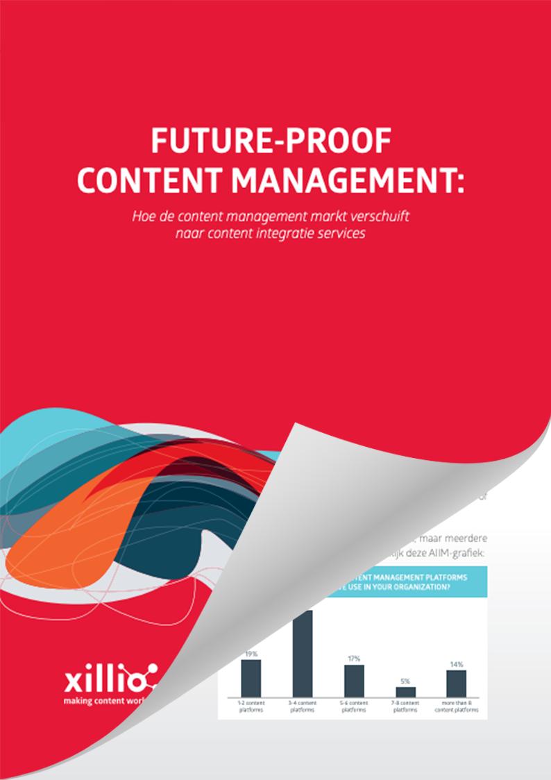Hoe de content management markt verschuift naar content integratie services