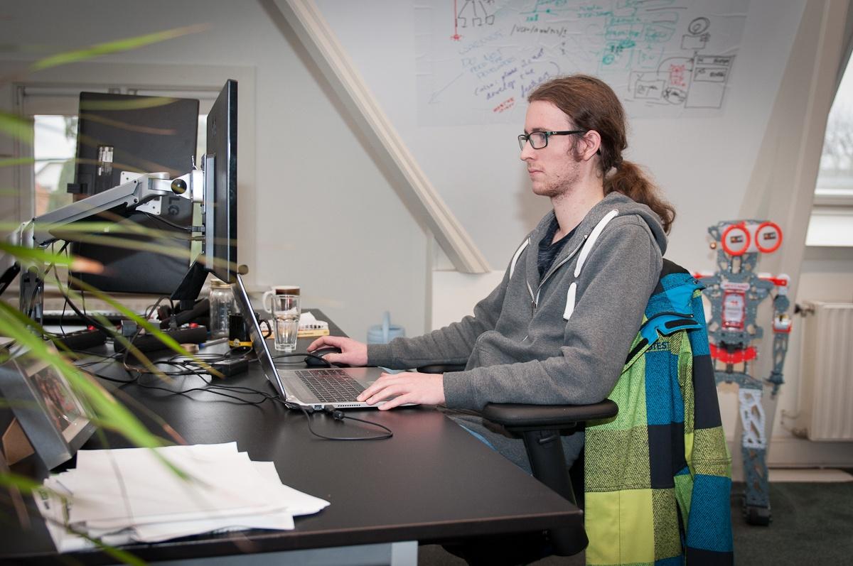 Work as a developer in Hilversum