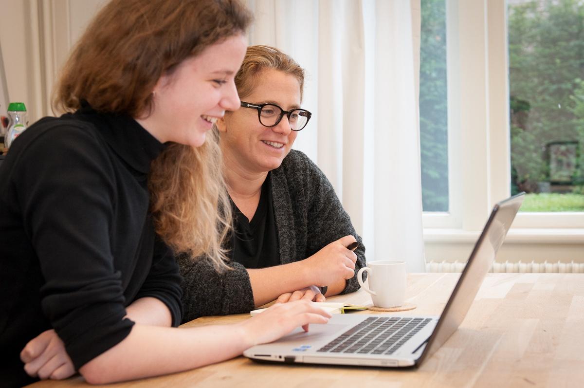 Werken in een klein en internationaal team