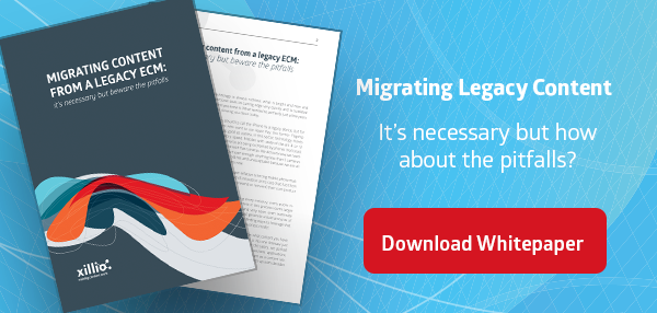 Whitepaper Migrating Content from a legact ECM