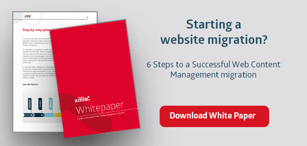6 steps to a successful web content management migration