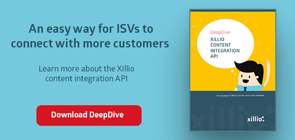 Business case for Xillio content integration API