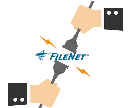 Content consolidation and migration into Filenet