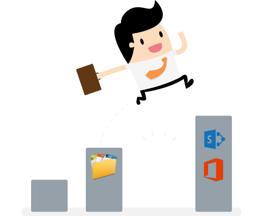 Migrate file share to SharePoint