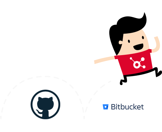 GitHub and Bitbucket integration in other repositories