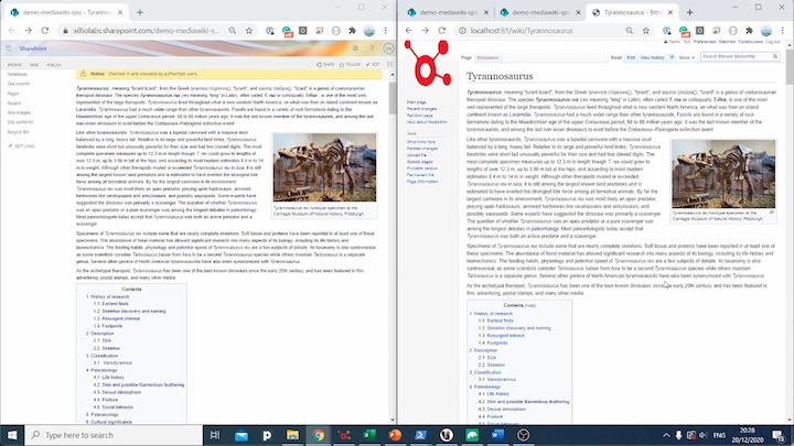 migreer Mediawiki sites naar SharePoint