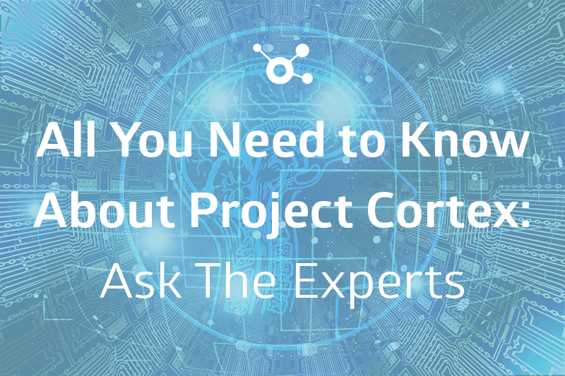 all you need to know about Project Cortex