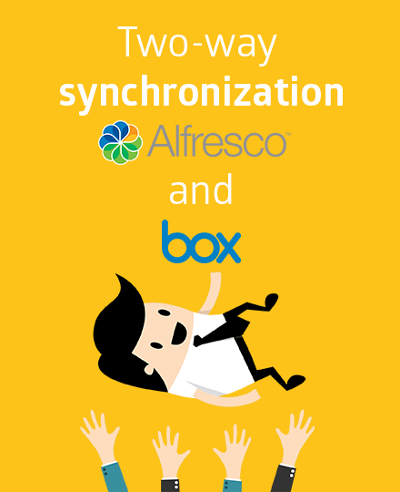 Synchronization Alfresco and Box