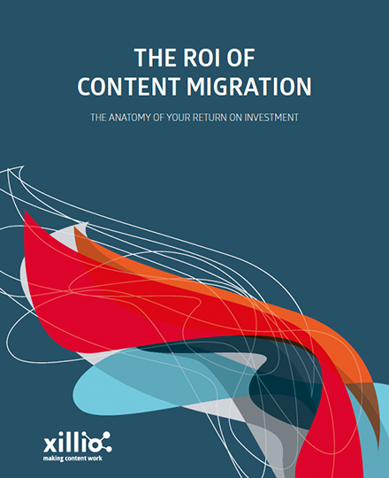 return on investment content migration