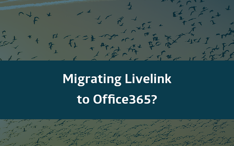 Livelink to Office 365 migration